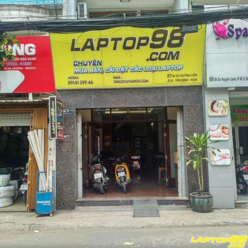 Cửa hàng laptop uy tín tphcm