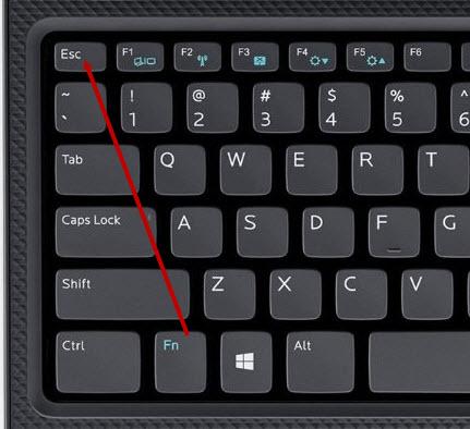 cách tắt phím fn trên laptop lenovo