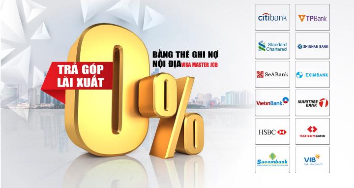 Mua laptop(NHẬP KHẨU MỸ) trả góp bằng thẻ tín dụng 0% | LAPTOP98